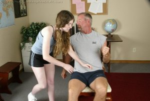 Real Spankings Institute - Bailey Spanked By Coach - Part 1 - image 10