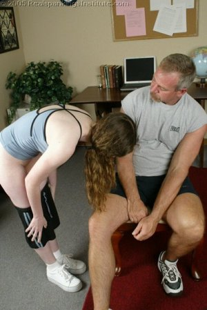 Real Spankings Institute - Bailey Spanked By Coach - Part 1 - image 4