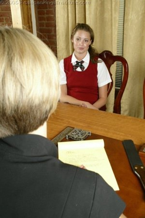 Real Spankings Institute - Jackie's Meeting With Ms. Burns - image 11