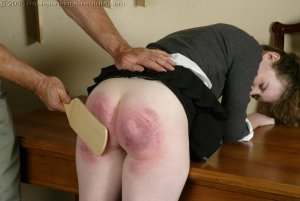 Real Spankings Institute - Bailey's Classroom Paddling - image 18