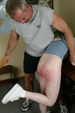 Real Spankings Institute - Bailey Spanked By Coach - Part 2 - image 15