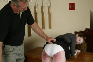 Real Spankings Institute - Bailey's Classroom Paddling - image 17