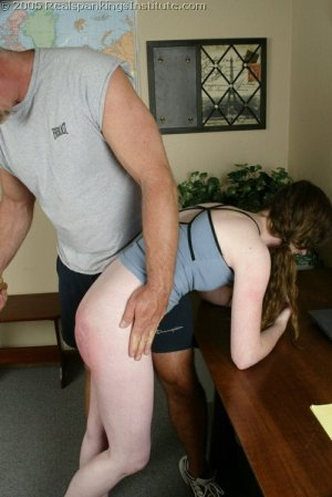 Real Spankings Institute - Bailey Spanked By Coach - Part 2 - image 18