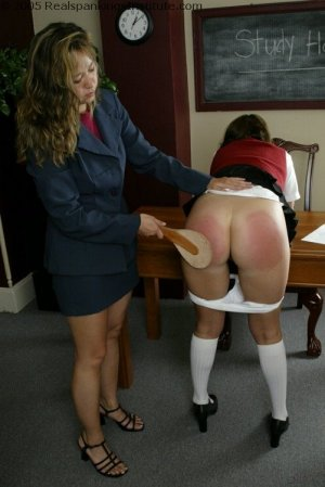 Real Spankings Institute - Charlie Is Spanked For No Homework - image 8