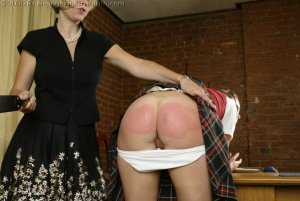Real Spankings Institute - Jackie's Meeting With Ms. Burns - image 9