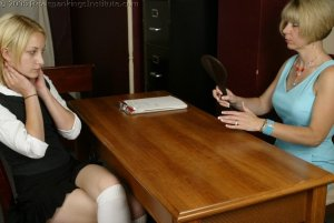Real Spankings Institute - Sarah's Meeting With Ms. Burns - image 17