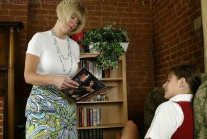 Real Spankings Institute - Jackie Is Paddled For Missing Class - image 15