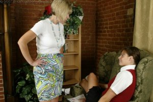 Real Spankings Institute - Jackie Is Paddled For Missing Class - image 8