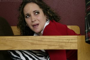 Real Spankings Institute - Jasmine Spanked For Skipping Class - image 18