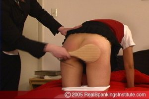Real Spankings Institute - Jessie's Surprise Room Inspection By Betty - image 5