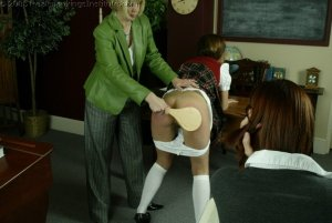 Real Spankings Institute - Michelle Paddled By Mrs. Burns - image 4