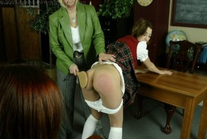 Real Spankings Institute - Michelle Paddled By Mrs. Burns - image 10