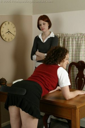 Real Spankings Institute - Jasmine & Madison Spanked For Stealing Pt.1 - image 18