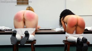 Real Spankings Institute - Alex And Kiki Punished By The Dean (part 2 Of 2) - image 3