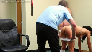 Real Spankings Institute - Disrespecting A Staff Member Gets You In Big Trouble (part 1 Of 4) - image 4