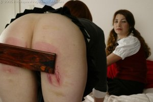 Real Spankings Institute - Michelle & Kailee Spanked - image 12