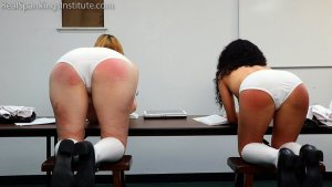 Real Spankings Institute - Alex And Kiki Punished By The Dean (part 2 Of 2) - image 10
