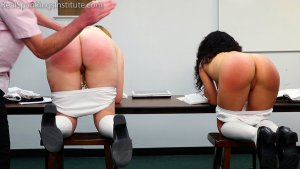 Real Spankings Institute - Alex And Kiki Punished By The Dean (part 2 Of 2) - image 7
