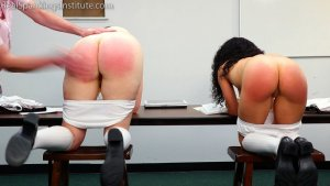 Real Spankings Institute - Alex And Kiki Punished By The Dean (part 2 Of 2) - image 8
