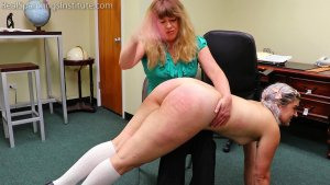 Real Spankings Institute - Stella's Naked Punishment (part 1 Of 2) - image 1