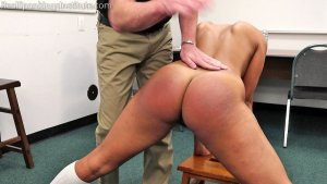 Real Spankings Institute - Cleo's Naked Punishment By The Dean (part 1 Of 2) - image 2