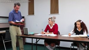 Real Spankings Institute - In School Suspension With The Dean (part 1) - image 8