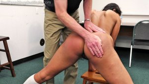 Real Spankings Institute - Cleo's Naked Punishment By The Dean (part 1 Of 2) - image 7