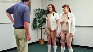 Real Spankings Institute - No Bras Equals A Trip To See The Dean (part 4 Of 4) - image 7