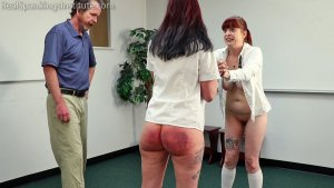 Real Spankings Institute - No Bras Equals A Trip To See The Dean (part 4 Of 4) - image 10