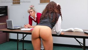 Real Spankings Institute - In School Suspension With The Dean (part 1) - image 4