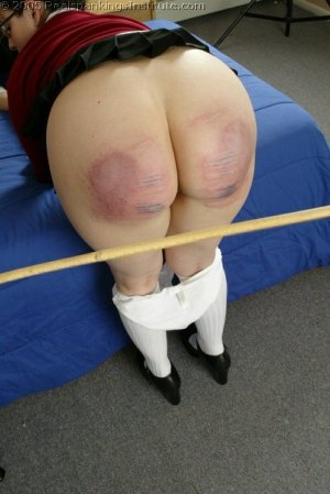 Real Spankings Institute - Chelsea's Hard Caning - image 5