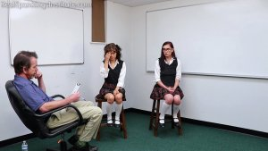 Real Spankings Institute - Two Students Caught Making Out And Sharing A Bed (part 1) - image 12