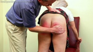 Real Spankings Institute - A Handspanking For 'tardies' - image 3