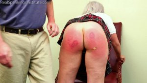 Real Spankings Institute - A Handspanking For 'tardies' - image 7
