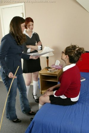 Real Spankings Institute - Chelsea's Hard Caning - image 4