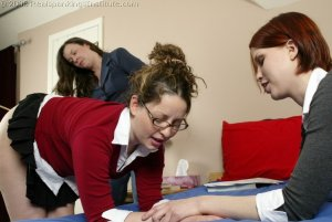Real Spankings Institute - Chelsea's Hard Caning - image 11