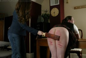 Real Spankings Institute - Lori Punished By The Dorm Mom - image 5