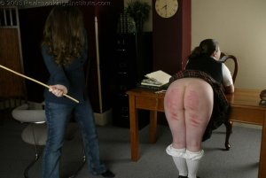 Real Spankings Institute - Lori Punished By The Dorm Mom - image 10