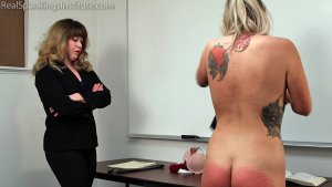 Real Spankings Institute - Study Hall Spanking (part 2 Of 2) - image 6