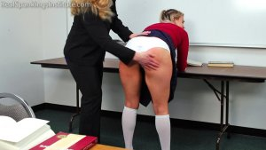 Real Spankings Institute - Study Hall Spanking (part 1 Of 2) - image 3