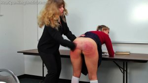 Real Spankings Institute - Study Hall Spanking (part 1 Of 2) - image 5