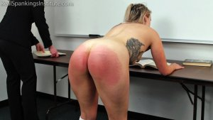 Real Spankings Institute - Study Hall Spanking (part 2 Of 2) - image 9