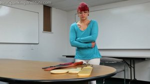 Real Spankings Institute - Kicked Out Of Gym (part 1 Of 2) - image 11