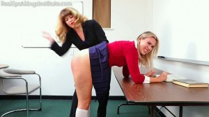 Real Spankings Institute - Study Hall Spanking (part 1 Of 2) - image 6