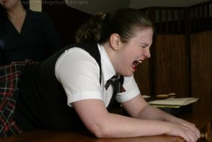 Real Spankings Institute - Lori Punished By The Dorm Mom - image 16