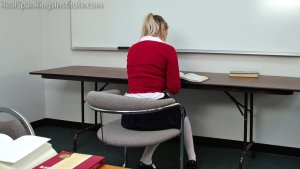 Real Spankings Institute - Study Hall Spanking (part 1 Of 2) - image 12