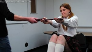 Real Spankings Institute - Alex: Spanked By The Dean (part 1 Of 2) - image 4