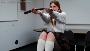 Real Spankings Institute - Alex: Spanked By The Dean (part 1 Of 2) - image 9