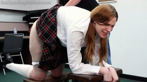 Real Spankings Institute - Alex: Spanked By The Dean (part 1 Of 2) - image 7