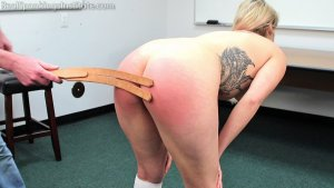 Real Spankings Institute - Cara Spanked By The Dean (part 2 Of 2) - image 6